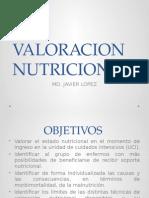 Valoracion Nutricional Paciente Critico