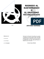 Regreso Al Subterrc3a1neo o El Erotismo Reconquistado Antonio Ramirez