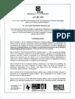 Decreto 456 de 2013