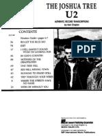 U2 - The Joshua Tree - Guitar Songbook