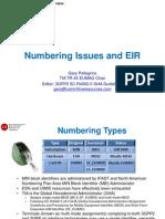 8 Numbering EIR