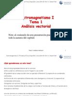 Tema1 Análisis Vectorial 2014 15