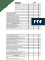 Lista de Chequeo Para Inspección de Transformadores ECP SDT