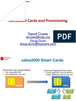 4 Cards Provisioning Presentation