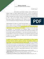 Bioetica y Derecho (Rodolfo Vázquez)