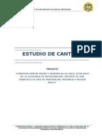Estudio de Cantera