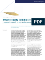 Private Equity in India Once Overestimated Now Underserved