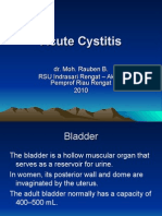 Acute Cystitis