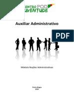 Apostilha Auxiliar Administrativo