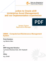 Oracle EAM Overview