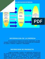 Canales de Distribucion y La Fijacion de Precios