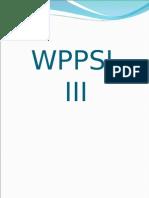 WPPSI III