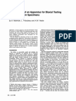 Development of an Apparatus for Biaxial Testing Using Cruciform Specimens