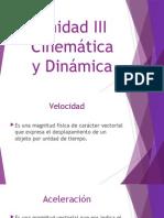Unidad III Estatica y Dinamica