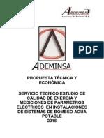 Propuesta Técnica y Económica Calidad Energía