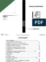 Manual Del Operador - Grua Horquilla