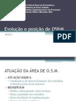 Conteúdo 1 - Evolucao e Posicao de OSM