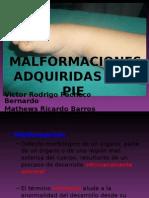 malformacionescongenitasenelpie-110922155434-phpapp01