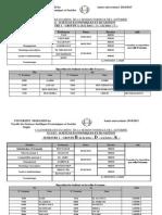 Calendrier Des Examens Par Modules Ratt 1