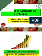 Nutrição e Adubação de Hortaliças