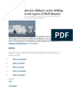 New Safety Rules for Offshore Arctic Drilling Proposed to Avoid Repeat of Shell Disaster