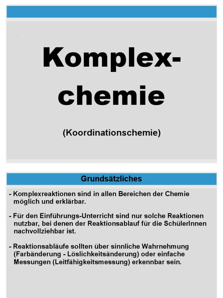 Komp Lex Chemie