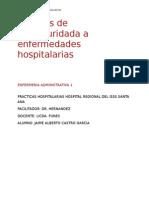 Medidas de Bioseguridada a Enfermedades Hospitalarias