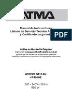 Manual HP4060E