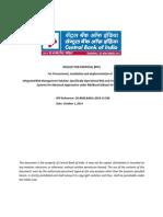 CBI Vendor RFP 01102014 -Advanced Approaches