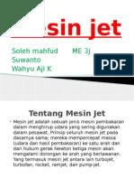 ME 3J Kelompok 7 '' Jet Engine ''