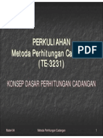 Materi MPC 04 Konsep Dasar Perhitungan Cadangan