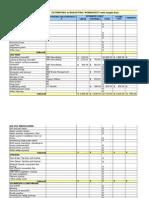 BA Estimating Worksheet Sample1