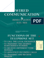 Wired Communications
