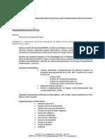Lista General de Servicios Municipalidad Provincial de Puno