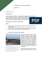Informe Salida de Campo Caribe Continental Colombiano