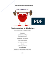 Programa Preventivo de Diabetes Mellitus Para Adultos