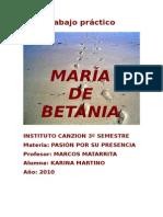 María de Betania