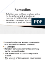 Remedies Slides