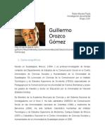Guillermo Orozco Gómez - Monografía