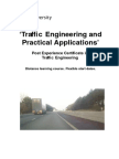 30544 Traffic Engineering