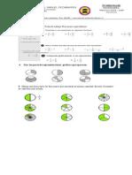 Ficha de Trabajo Fracciones Equivalentes 5B
