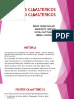 FRUTOS CLIMATERICOS Y NO CLIMATERICOS ALLISON PAJARO.pptx