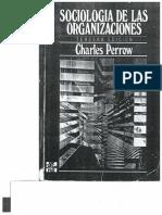 Sociología de las Organizaciones