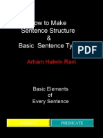How to Make Sentence Structure