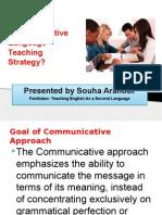 communicative learning strategy