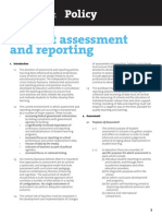 policy assessment reporting