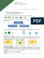 Guía I° Geometría Cuerpos geométricos.