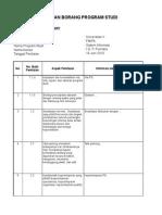 Form Penilaian Akreditasi Sarjana Versi 18 Juni 2010