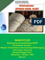 Penyusunan Laporan Hasil audit