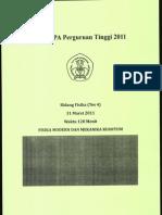 Fisika Modern dan Mekanika Kuantum 2011.pdf